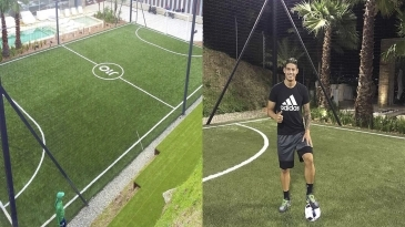 Cancha privada James Rodriguez